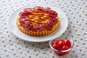 「夏野菜のナスップルパイ~トマトのコンポート添え~」