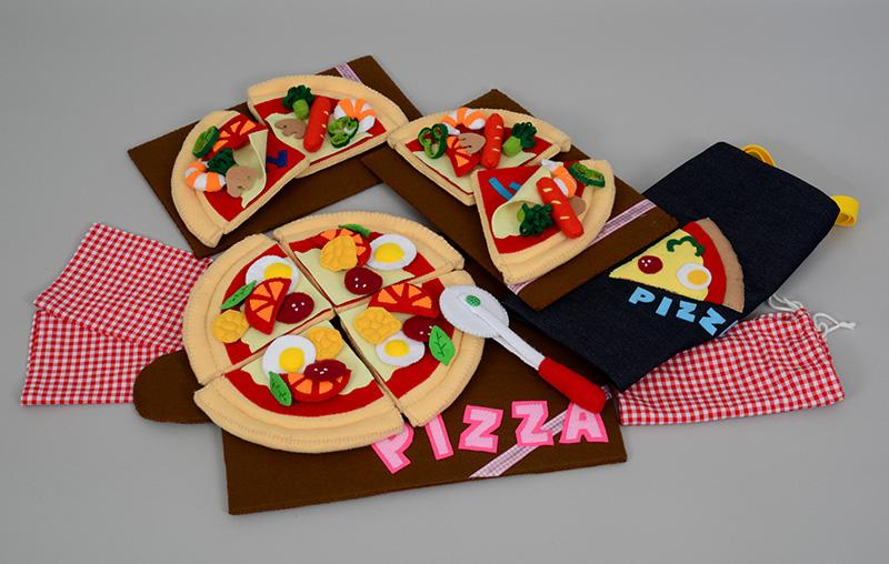 知育玩具 ピザでおままごと